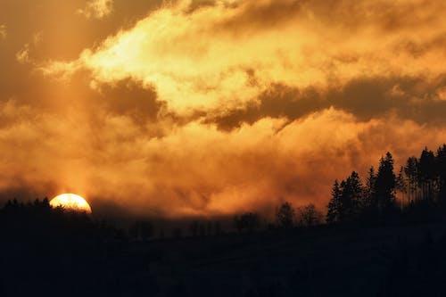 Foto stok gratis alam, awan, langit, lansekap