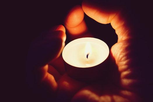 Free stock photo of light, hand, dark, hot