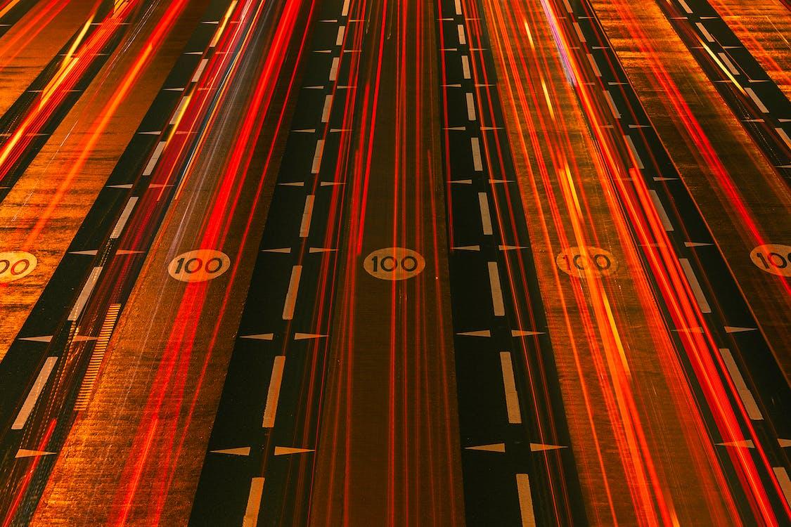 Rotlichtstreifen