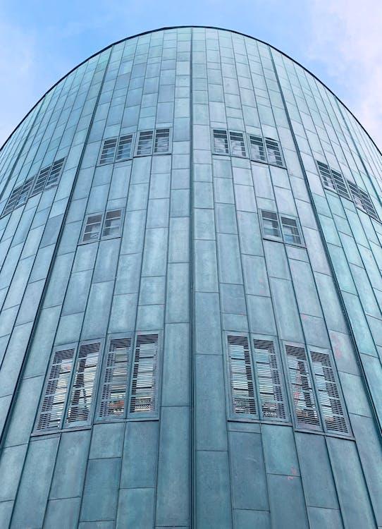 архитектура, здание, зеленый