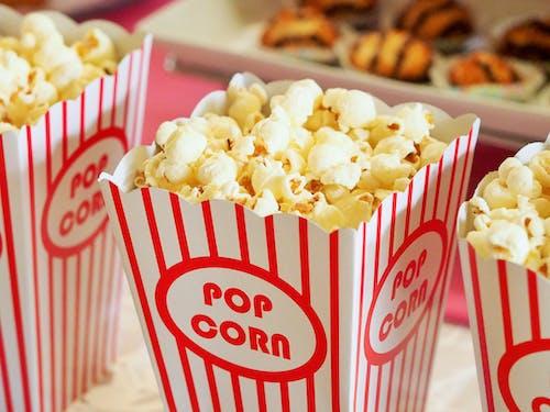 Kostenloses Stock Foto zu essen, kino, lebensmittel, popcorn
