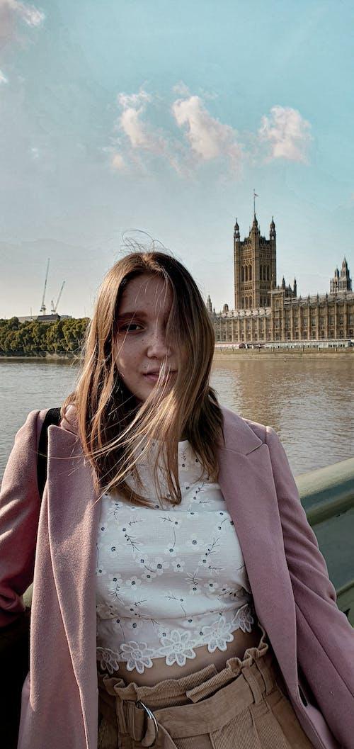 Big Ben, güzel, kız, Londra içeren Ücretsiz stok fotoğraf