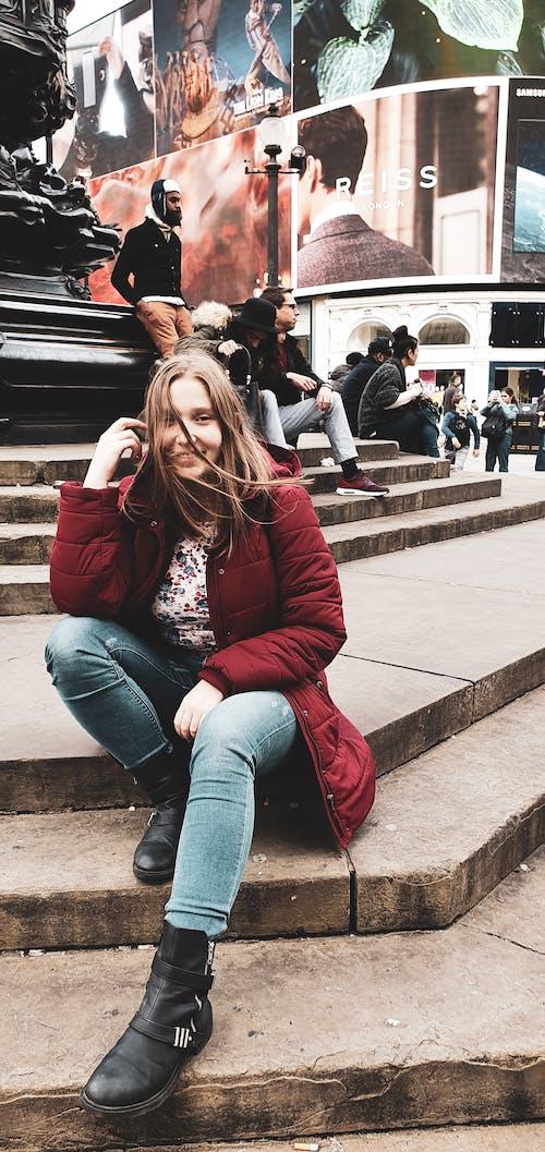 adımlar, güzel, kız, Londra içeren Ücretsiz stok fotoğraf