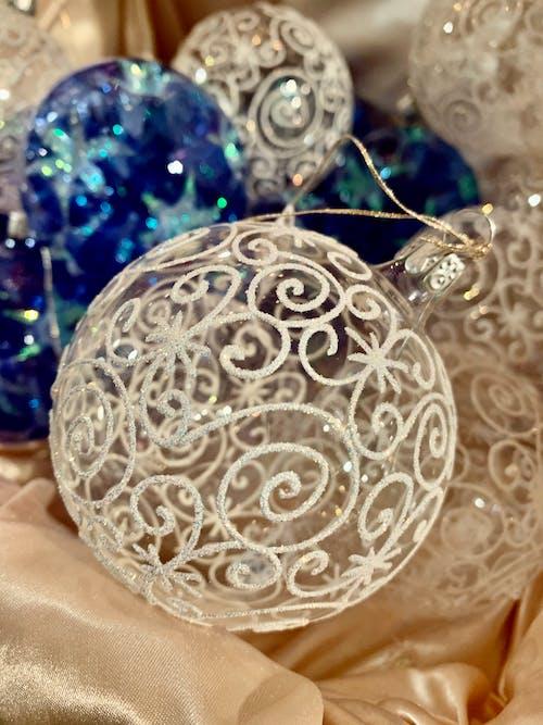 dekorasyonlar, kış, Noel, Noel süsü içeren Ücretsiz stok fotoğraf