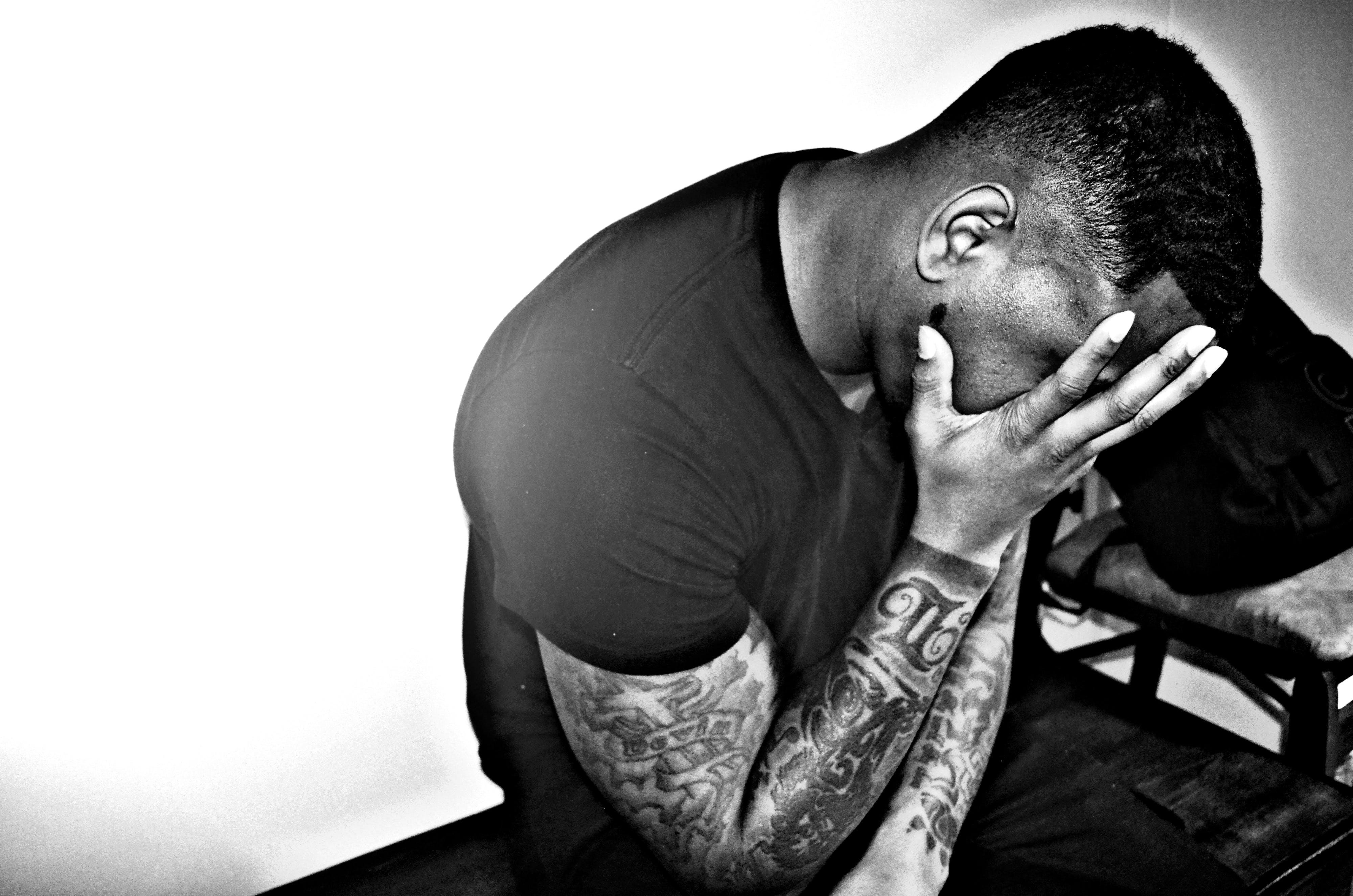 Free stock photo of black and white, blackmale, fitness, keynotez