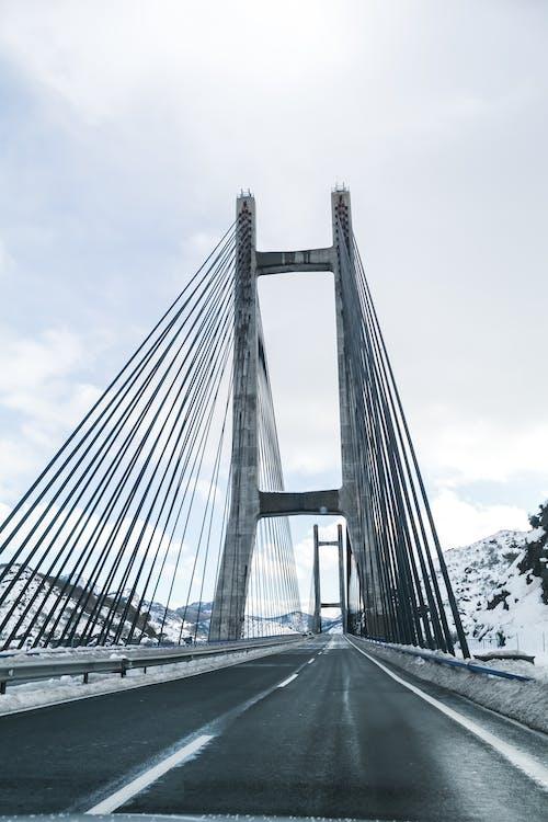 Free stock photo of bridge, car, spain, tarmac road