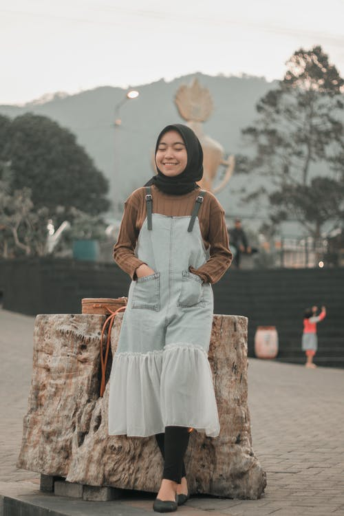 Kostenloses Stock Foto zu asiatin, hijab, indonesier, portraitfotografie