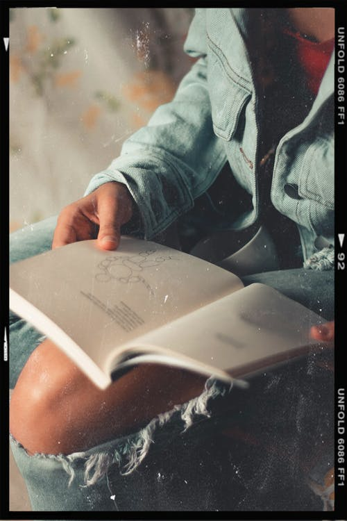 Person Reading Book