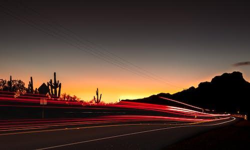 Imagine de stoc gratuită din apus, arizona, autostradă pustie, autoturisme