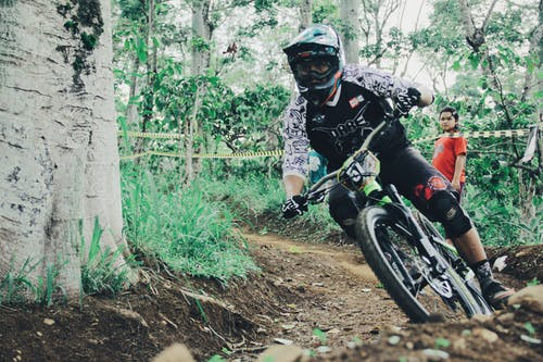 Free stock photo of bicycle, competition, downhill