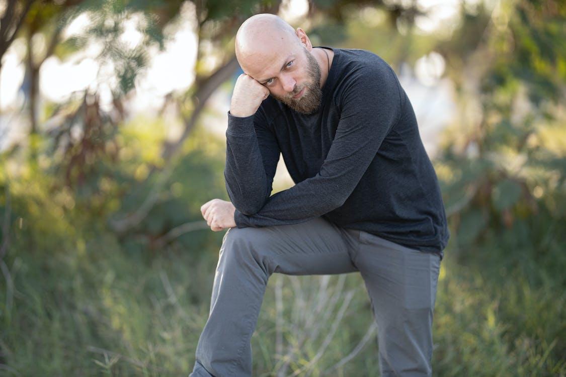 bald, beard, boy