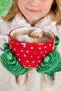 cold, person, mug