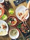 food, hand, meal