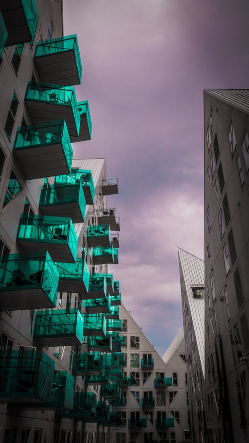 Free stock photo of aarhus, apartment, architectural design, balcony