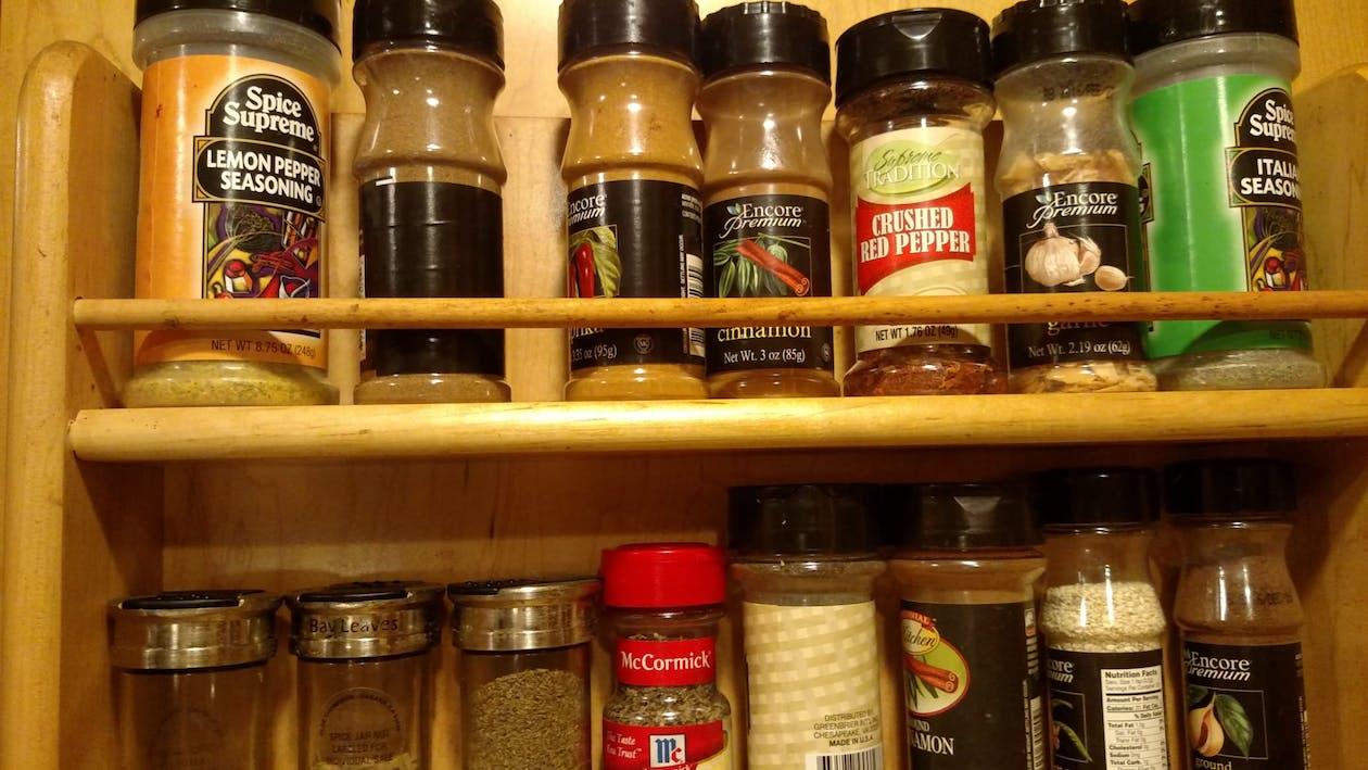 spice cabinet, spice rack