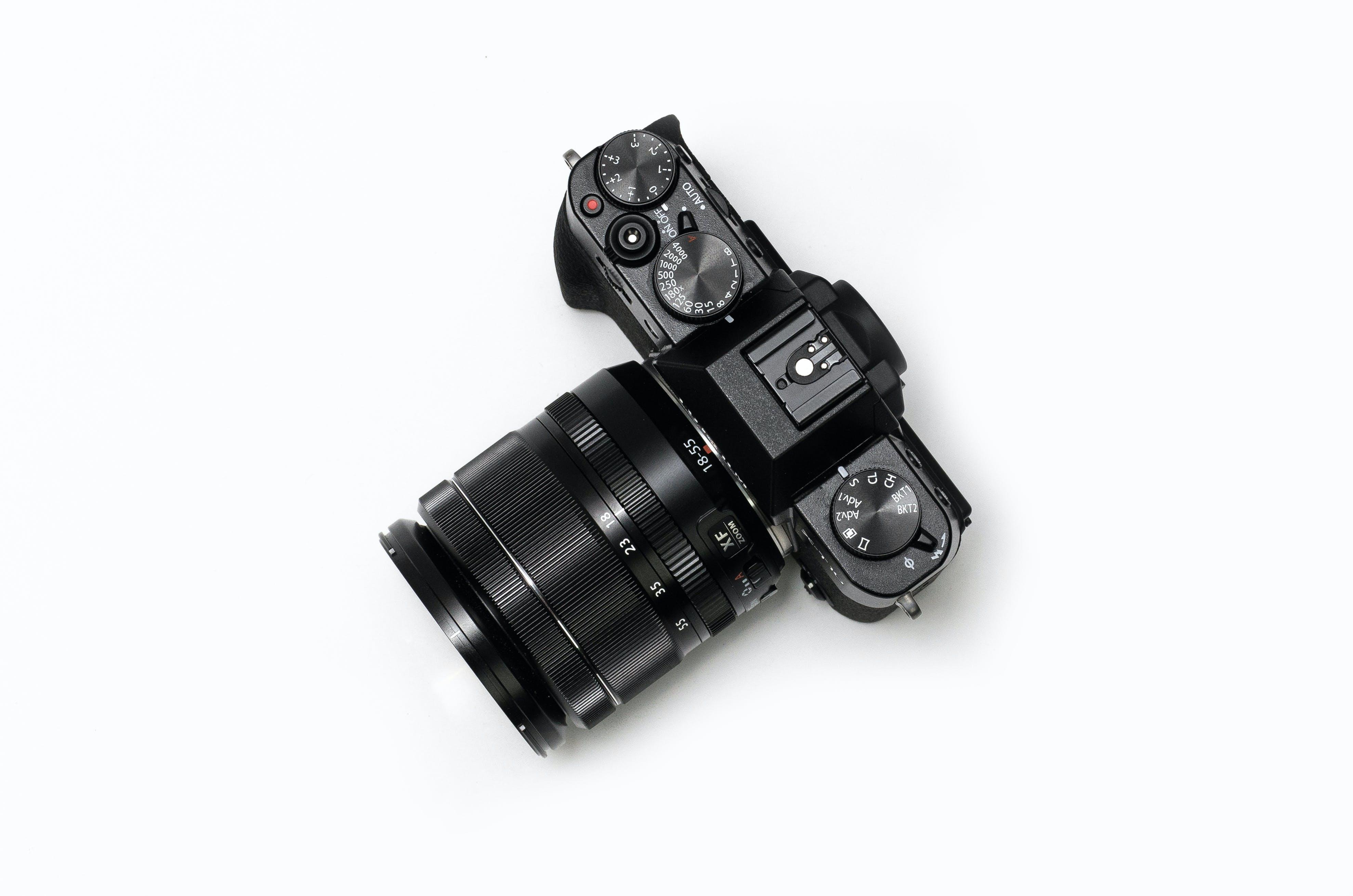 Free stock photo of camera, photography, lens, black