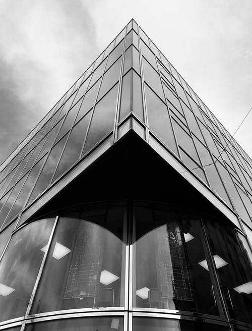Free stock photo of archtitecture, black and white, building