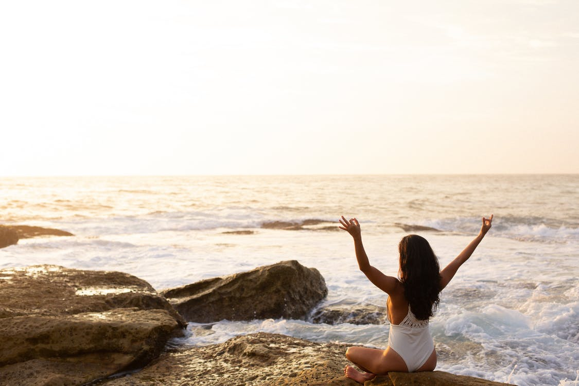 biển, bình minh, bình yên
