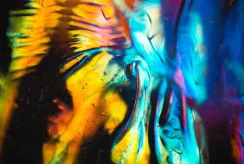 Kostenloses Stock Foto zu abstrakt, abstrakte kunst, abstrakten hintergrund, blau