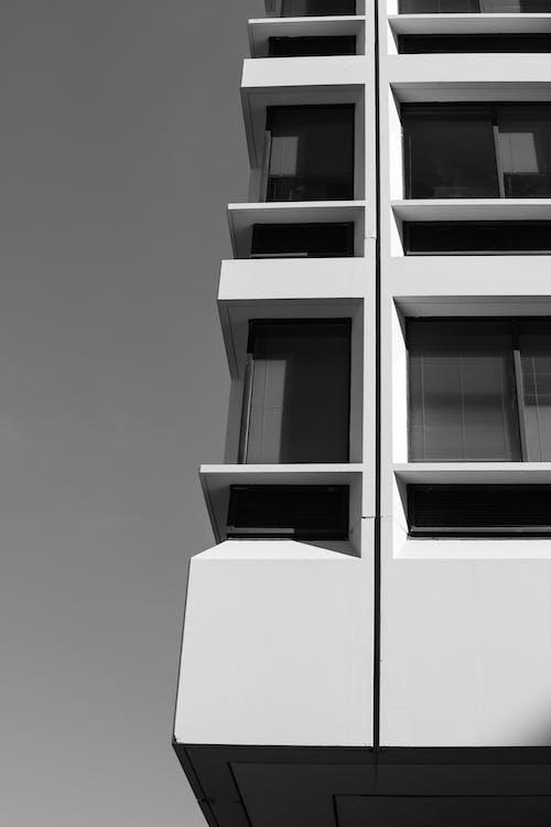 光, 光與影, 天空, 建築 的 免费素材照片