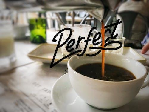 Kostnadsfri bild av bryggt kaffe, häller, kaffe, kaffekopp