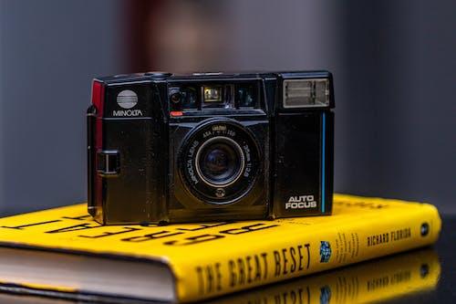 Ilmainen kuvapankkikuva tunnisteilla 35 mm: n elokuva, kameran elokuva, kamerat, minolta