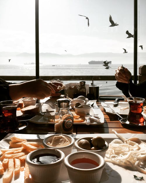 갈매기, 럭셔리, 레스토랑, 물의 무료 스톡 사진