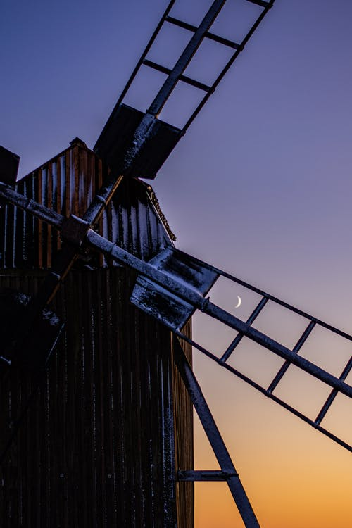 Photo Of Windmill During Dawn
