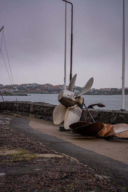 propeller, sea, ship