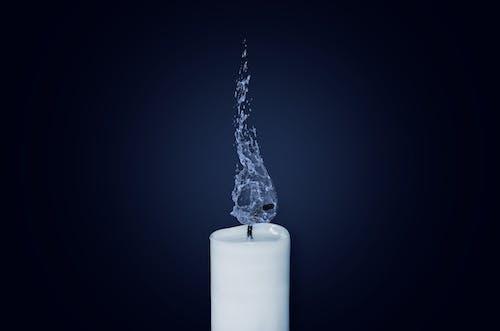 キャンドル, タイムラプス, 消火, 白の無料の写真素材