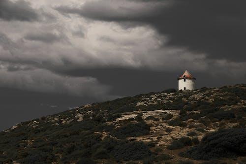 คลังภาพถ่ายฟรี ของ # # โบราณหอ # เนิน # มืด