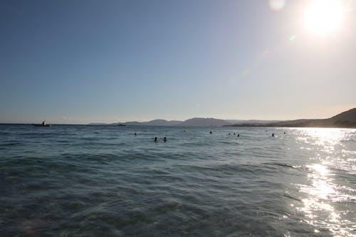 Gratis lagerfoto af hav, scene, svømmere