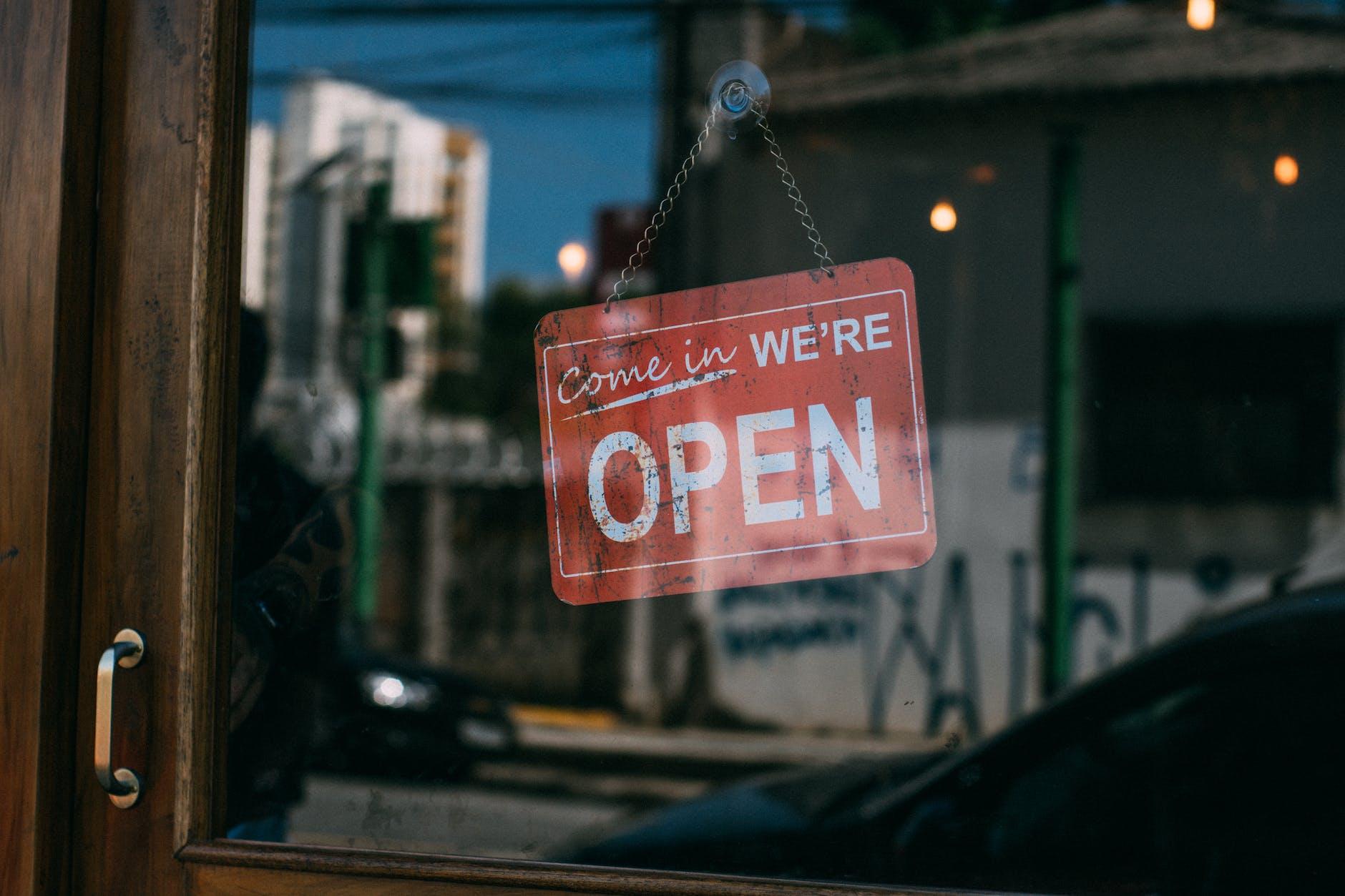 open business