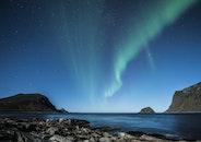 night, norway, aurora borealis