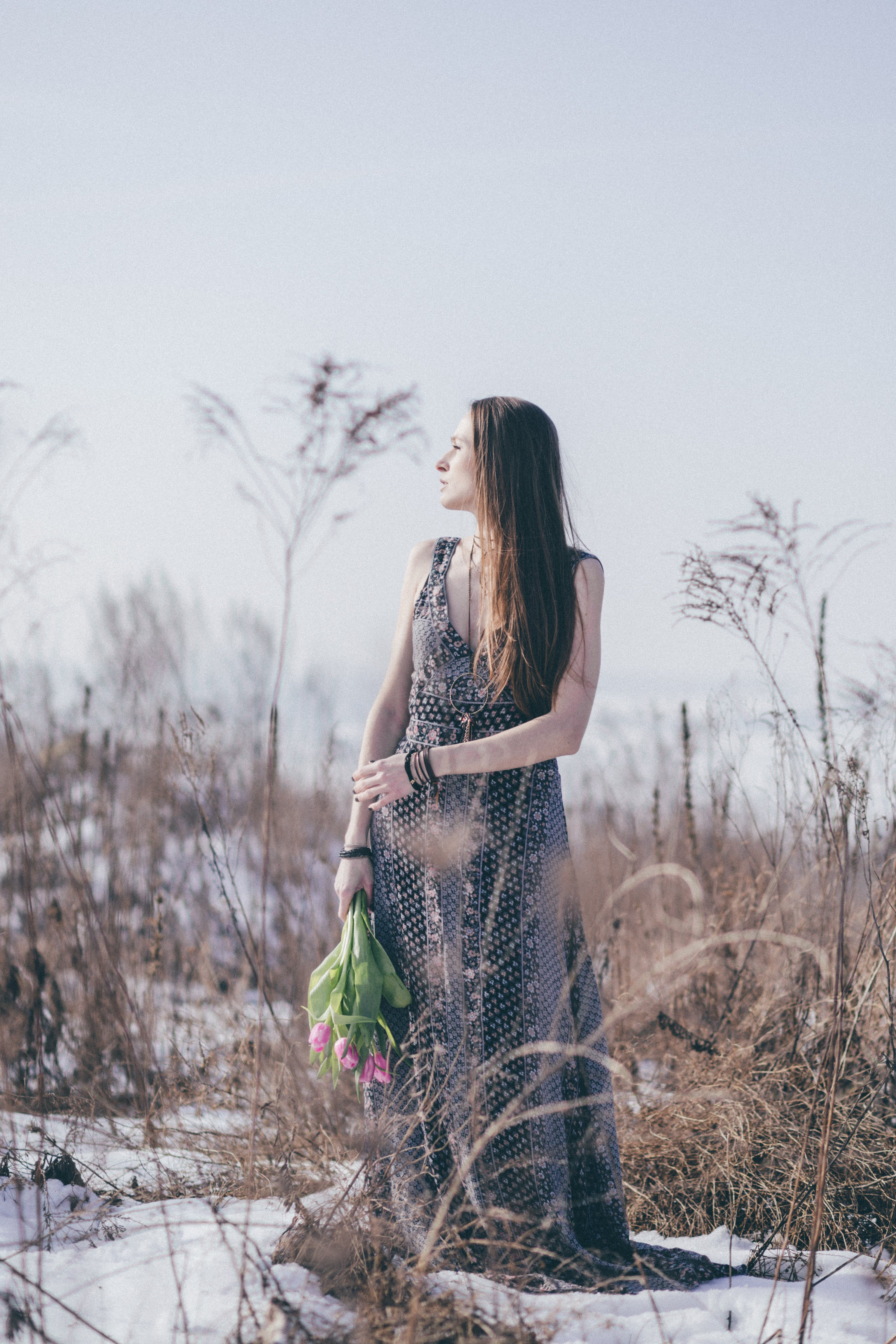 av fält, fotografering, glamour, gräs
