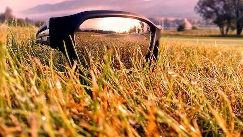 Бесплатное стоковое фото с восход, отражения, поле для гольфа, предзакатный час