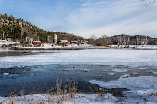 Foto stok gratis bukit, Es, gunung, musim dingin