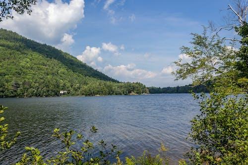 Foto stok gratis air, alam, danau derek, gunung