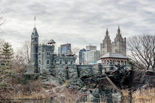 中央公園, 丽城城堡, 城堡, 建築 的 免费素材照片
