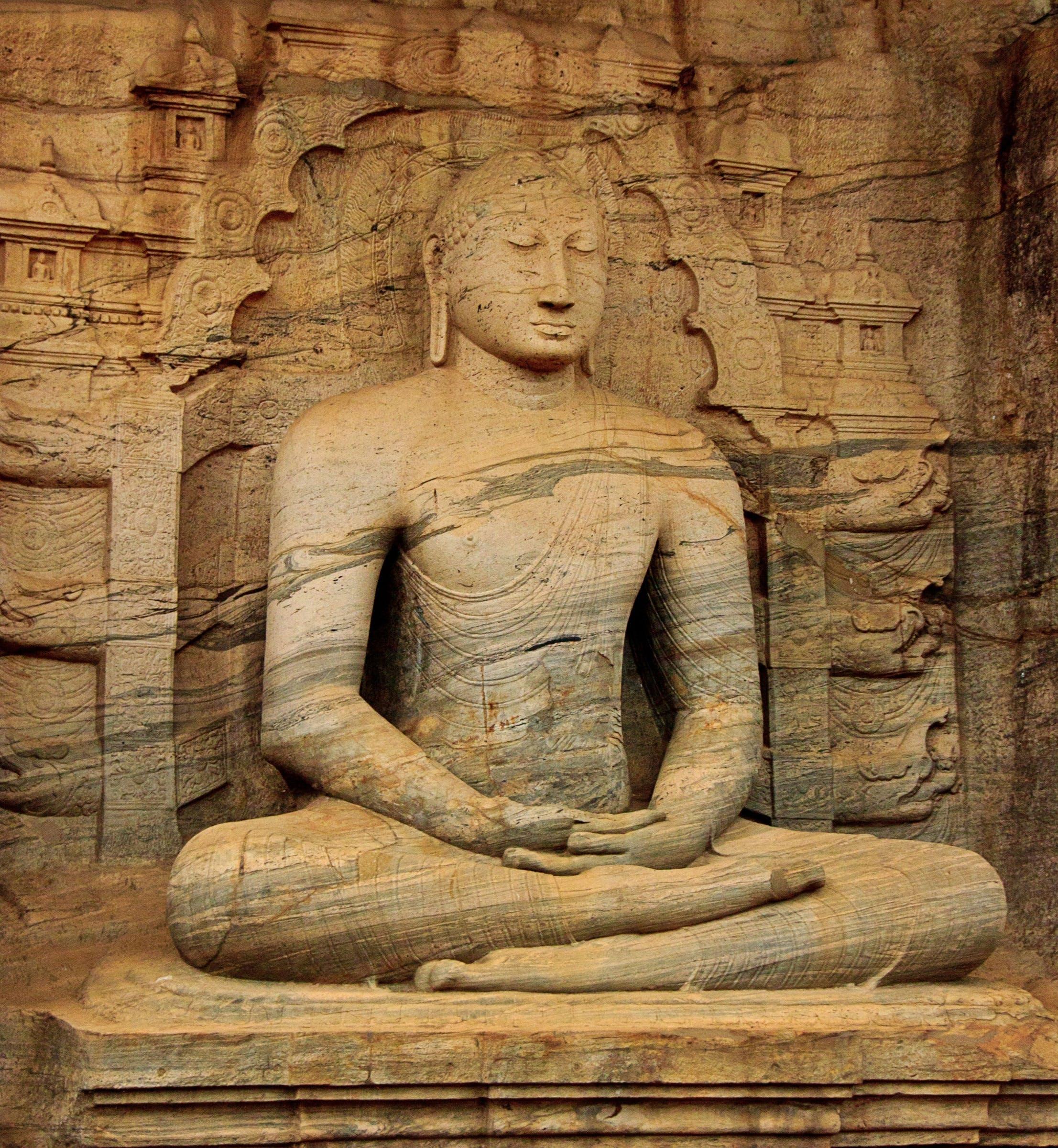 Brown Buddha Statue