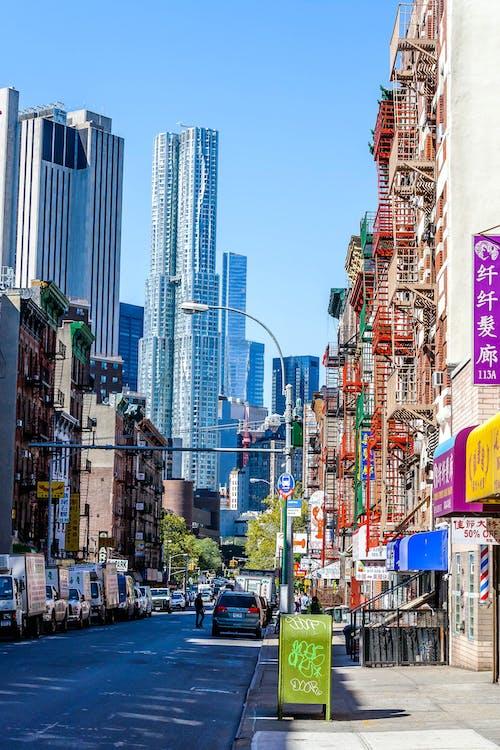 arquitectura, barri xinès, color