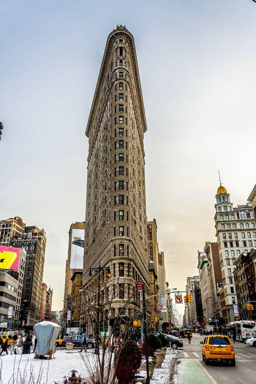 Free stock photo of architecture, building, Flatiron Building, nyc