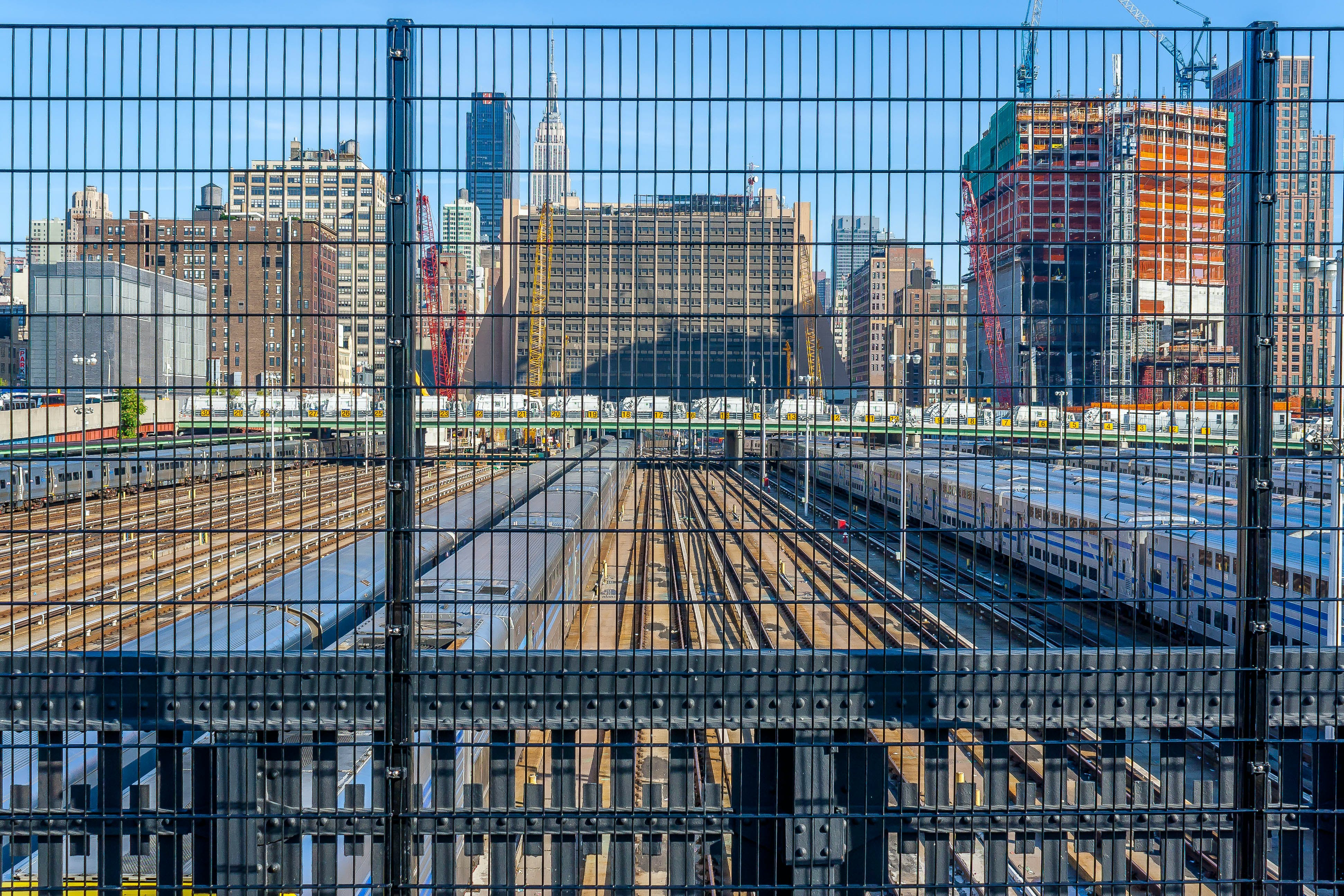 Free stock photo of architecture, cityscape, fence, nyc