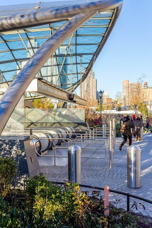 arquitectura, entrada, metro