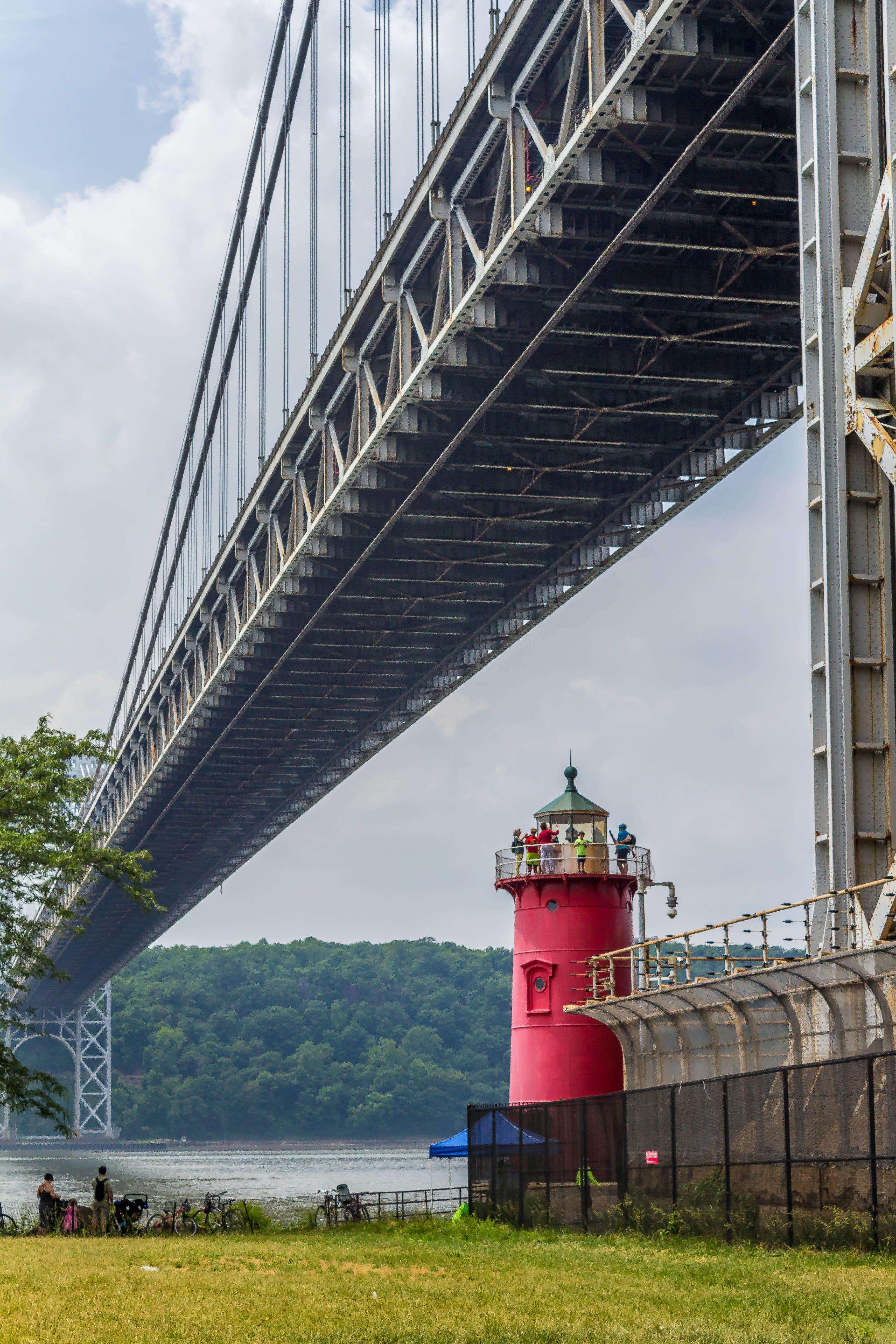 Free stock photo of architecture, bridge, George Washington Bridge, hudson river