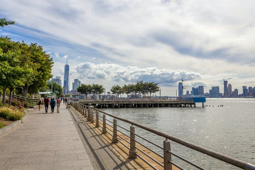 Free stock photo of cloud, hudson river, Hudson River Park, nyc