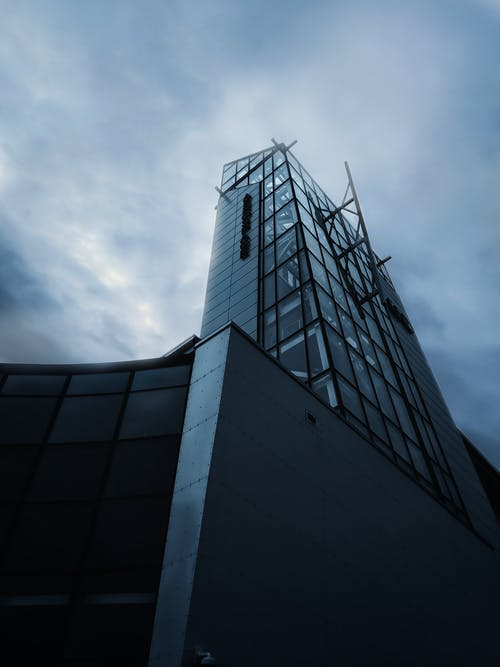 Free stock photo of cloudy sky, tall building