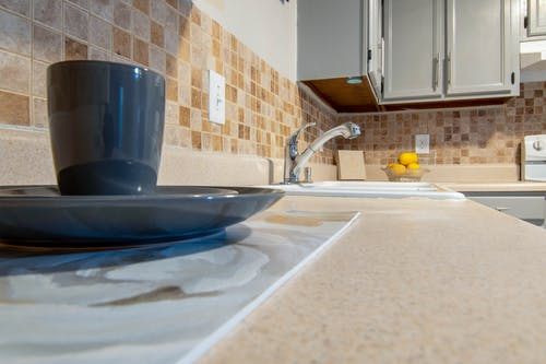 Free stock photo of kitchen, kitchen appliance, kitchen counter