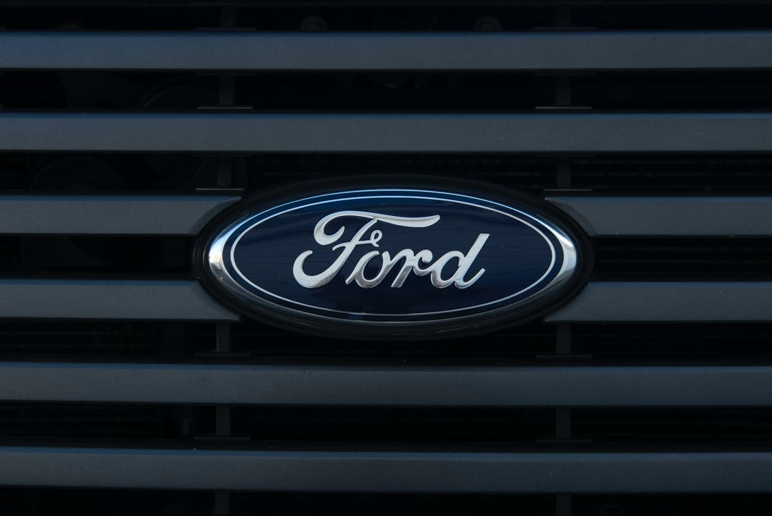 Black and Silver Ford Logo
