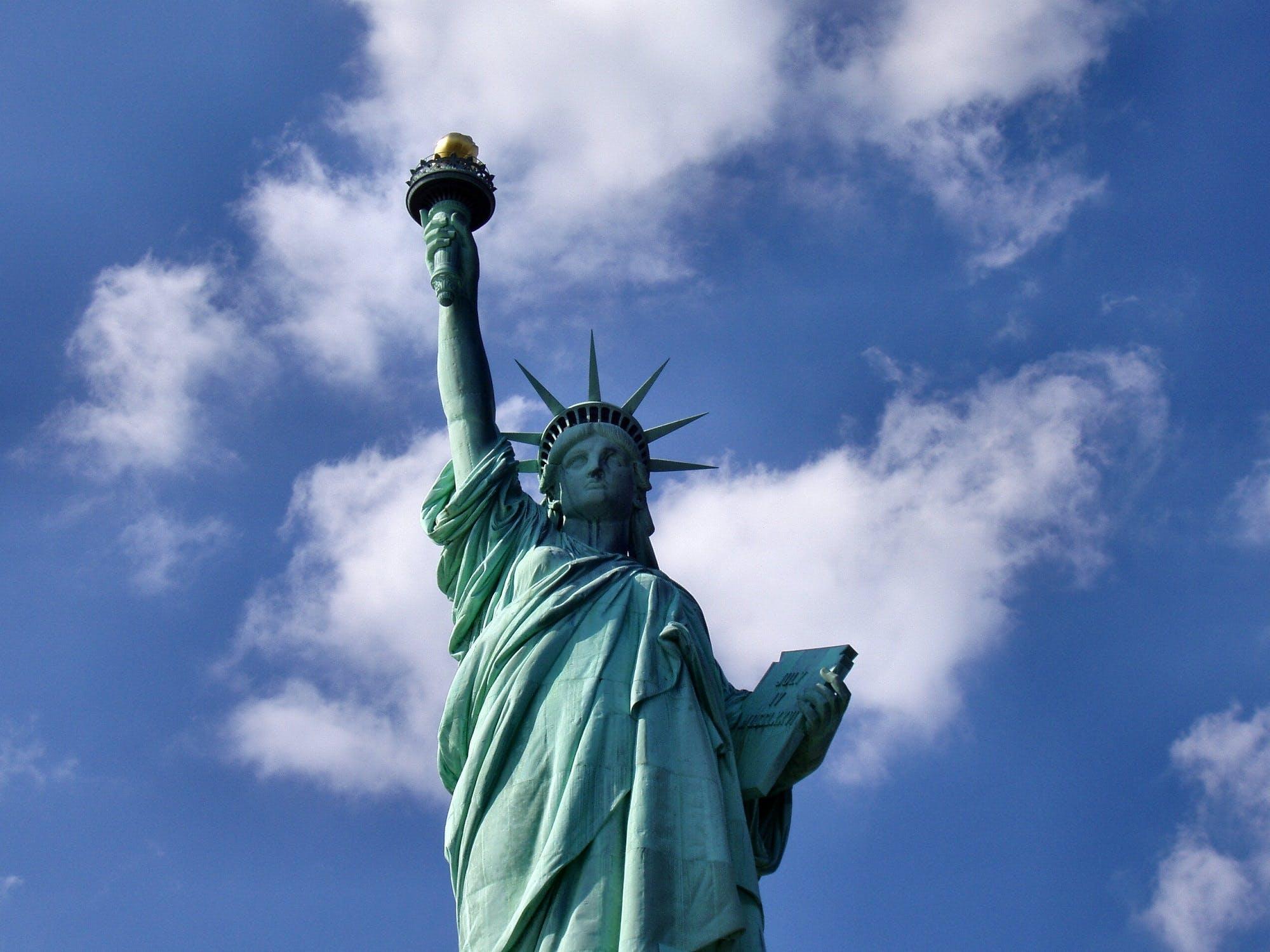 Kostenloses Stock Foto zu freiheitsstatue, new york, nyc, touristenattraktion